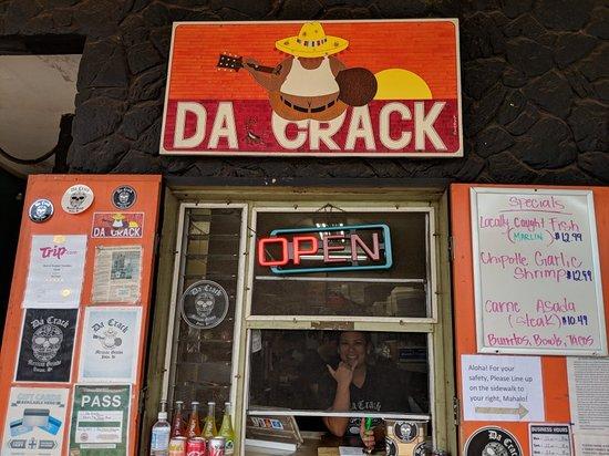 Full Menu Picture Of Da Crack Poipu Tripadvisor