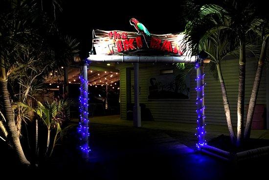 Tiki bar entrance picture of roland martin tiki bar grill roland martin tiki bar grill tiki bar entrance aloadofball Image collections