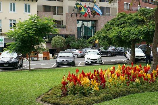 Hotel Libertador Lima: У входа
