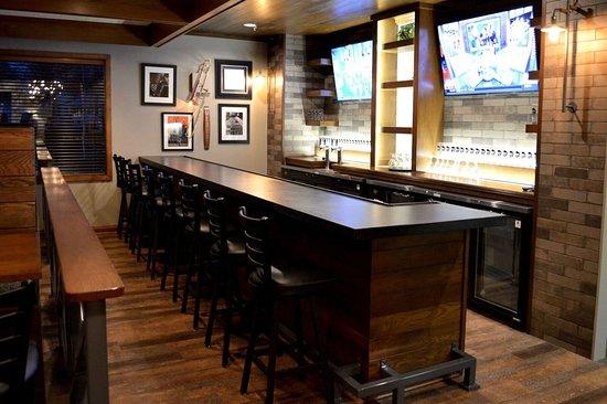 Batesville, IN: Custom designed and built bar