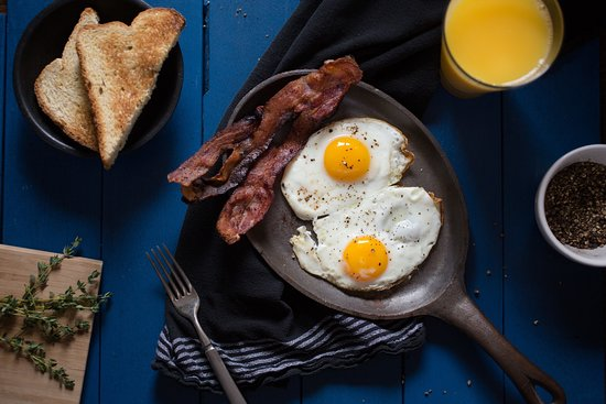 Batesville, IN: Eggs and Bacon!