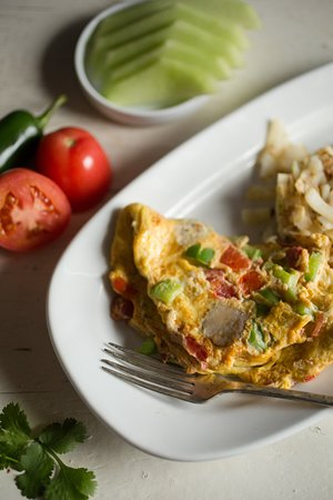 Batesville, IN: Veggie Omelet