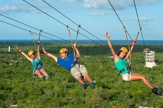 Xplor Adventure Park saindo de Cancun