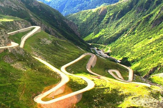 Transfagarasan Highway and Curtea de...