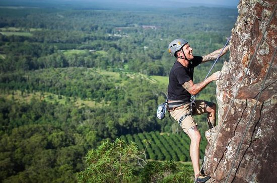 Glass House Mountains Rock Climbing...