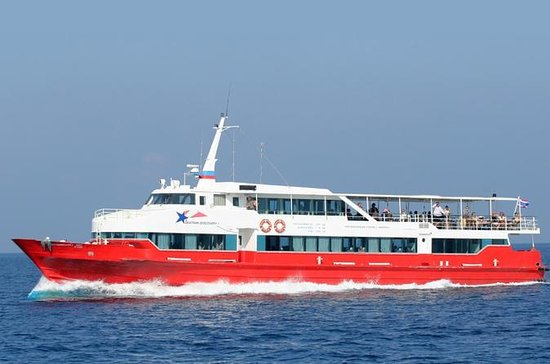 Koh Phi Phi a Koh Tao en Ferry...