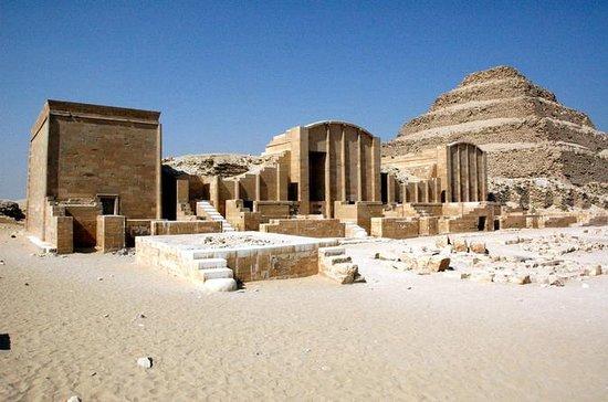 Giza Pyramids and Saqqara Private...