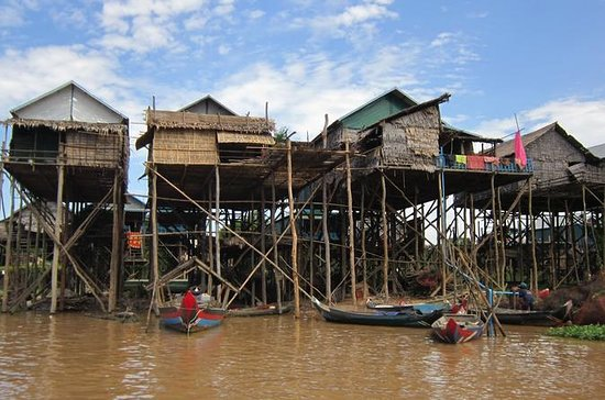 Floating Villages, Tonle Sap Lake and...