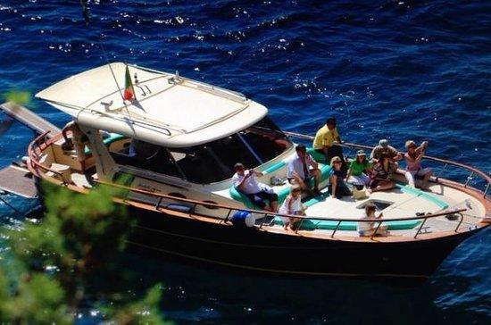 Capri & Sorrento Boat Experience Daily Tour with Limoncello Tasting...