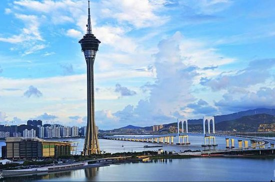 ‪‪Discovery Bay‬, كاليفورنيا: Macau Tower Tea Delights with Sky High Views‬