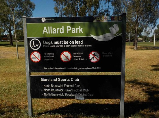 Brunswick East, Australia: Park Rules