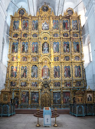 Solvychegodsk, Rússia: Иконостас Введенского собора