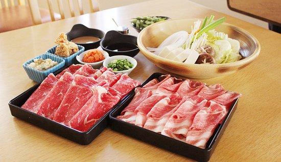日本食レストラン 和音, Shabushabu Set しゃぶしゃぶセット