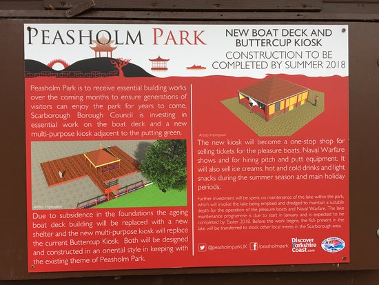 Peasholm Park Scarborough