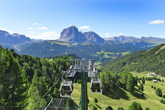 Val Gardena, Italy: On the Top