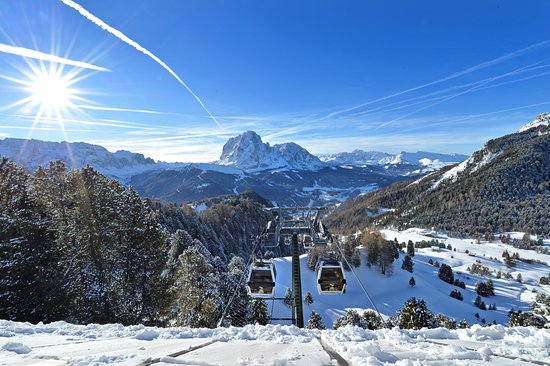 ‪‪Val Gardena‬, إيطاليا: View from the top‬