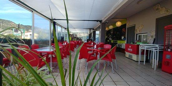 Fuentespalda, Spanien: restaurante La Font