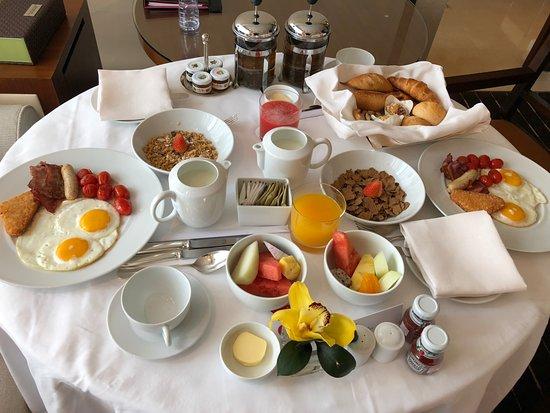 Grand Hyatt Macau: 早餐的部份