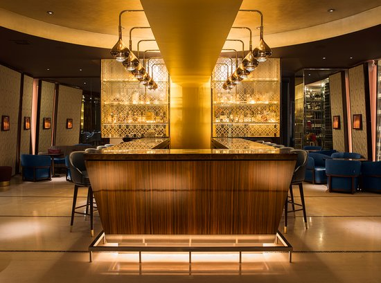 The Mandarin Bar at Mandarin Oriental Hyde Park, London