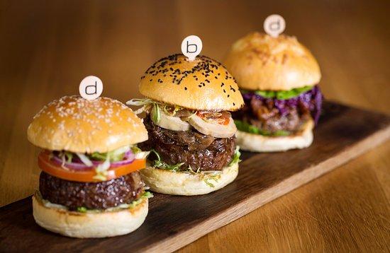 Burgers at Bar Boulud, London