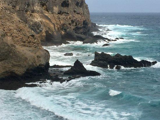 Ribeira Brava, Kapp Verde: Sea and rocks