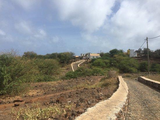 Ribeira Brava, Kapp Verde: Easy start of the hike