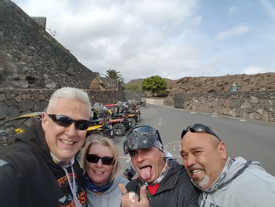 Lanzarote, Spain: Curtis & Bertie were great fun.