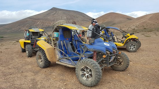 Lanzarote, Spain: Our buggy