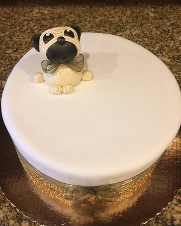 Pug Birthday Cake - Picture of Cerrato's Pastry Shop, West ...