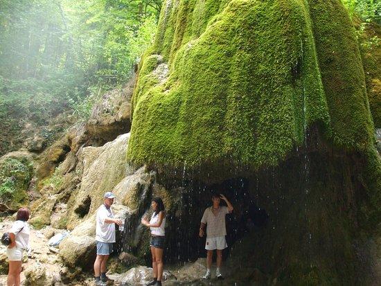 Bakhchisaray District: Водопад Серебряные струи. Крым.
