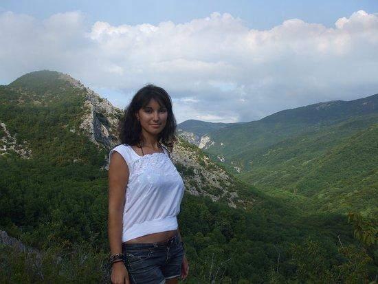 Bakhchisaray District: Водопад Серебряные струи. Крым. Смотровая площадка.