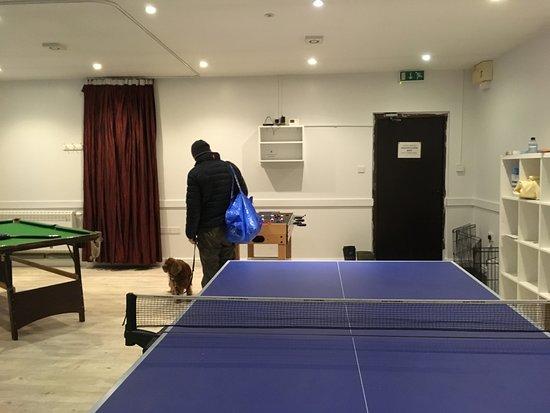Winsley, UK: Games room