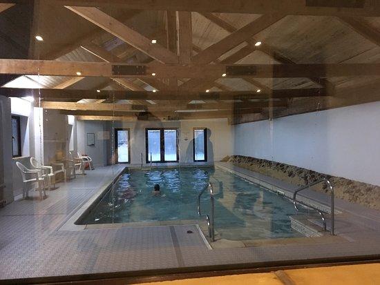 Winsley, UK: Swimming pool