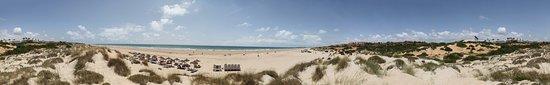 Novo Sancti Petri, Španija: Panorama Strand