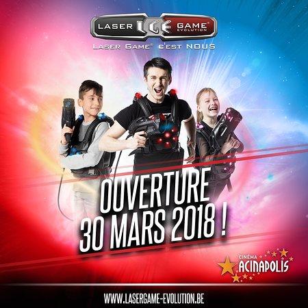 Laser Game Evolution Namur