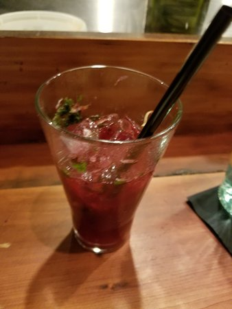 Glastonbury, CT: :Berry Mojito