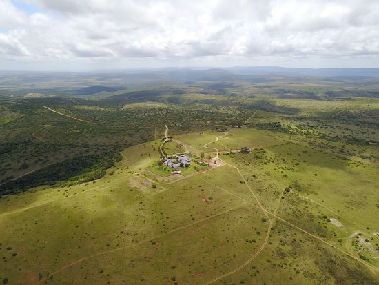 Paterson, South Africa: A beautiful aerial view of Founders Lodge