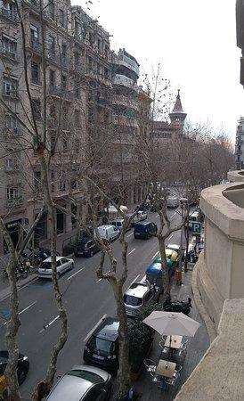 Hostal Martinval: Vista para a rua