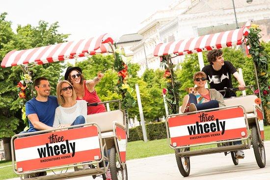 Three Wheely Rikscha