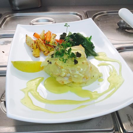 Newcastle West, Ireland: Pan Fried Fillet of Hake