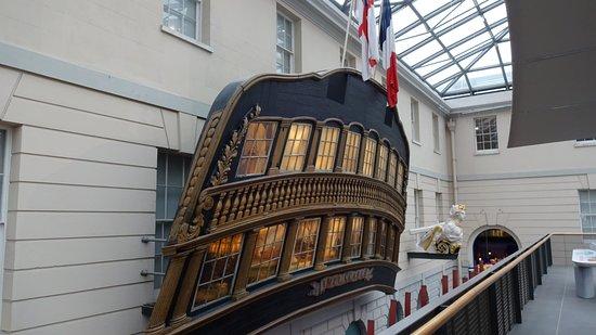 National Maritime Museum: Schiffsheck