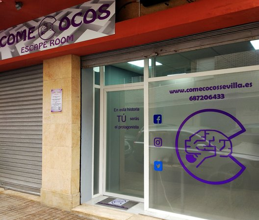 ‪Comecocos Sevilla Escape Room‬