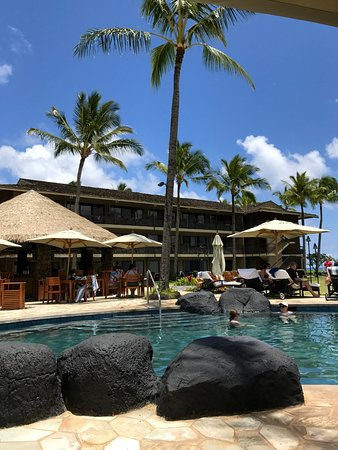 Koa Kea Hotel & Resort: Pool area