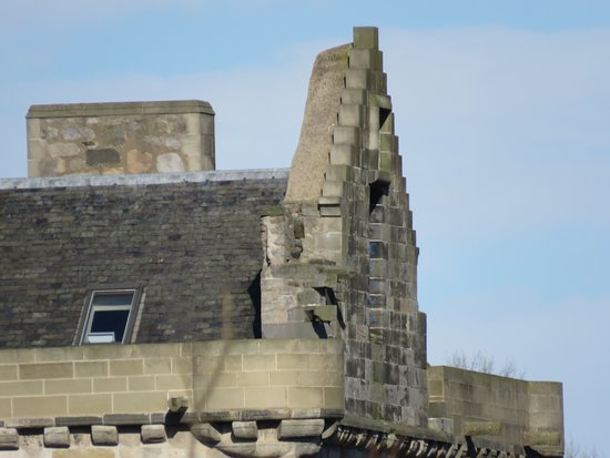 Broxburn, UK: roof detail
