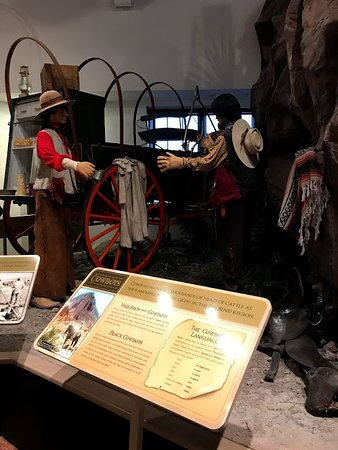 Alpine, TX: Historic exhibit