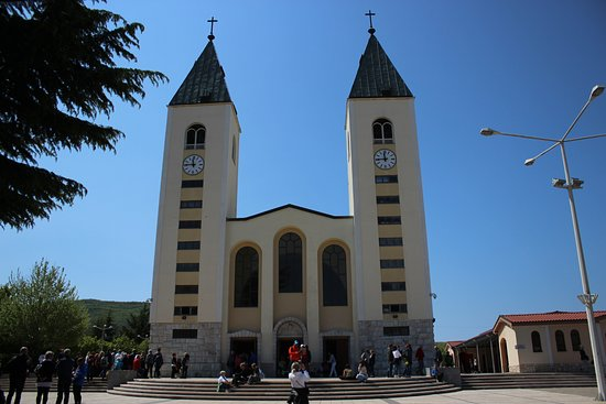 Saint James Church Medjugorje