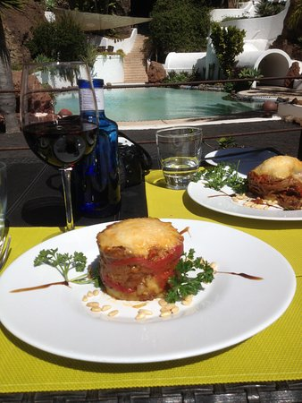 Lanzarote, Spain: A meal with a view to relax to