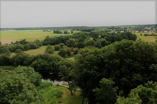 Panevezys, Lituania: wiew from tower