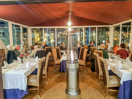 The Steakhouse: Views over Benalmadena Marina