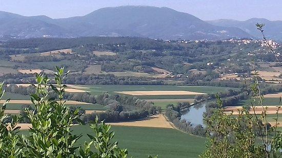 Ponzano Romano, Italia: Da qui nasce il nome della strutture dove il fiume tevere forma un fiasco